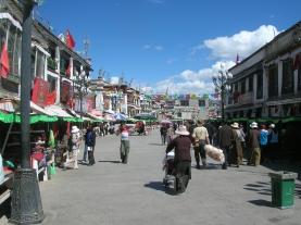 Tibet. Backpacks and Bra Straps