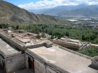 Drepung Monastery, Tibet. Bacipacks and Bra Straps