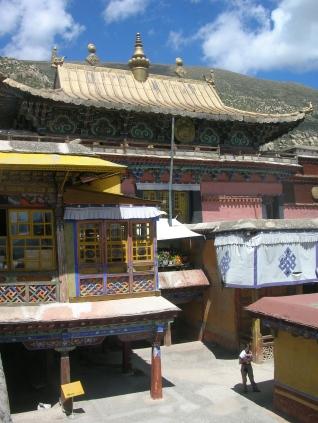 Drepung Monastery. TIbet . Bacipacks and Bra Straps