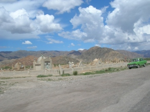 The Silk Road, Kyrgyzstan. Backpacks and Bra Straps