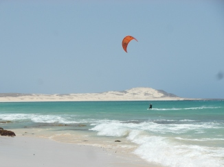 Kite surfing, Cape Verde