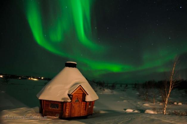 Northern Lights in Kilpisjärvi, Finland