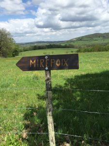 Mirfpoix, France,