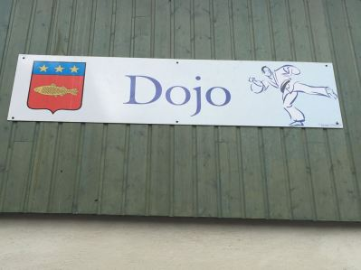 Villesiscle, France, - dojo