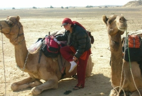 Maggie-the-Mom camel,  Thar Desert, India