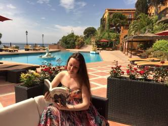 Savannah Grace, Staying at the Hotel Rigat, Spain