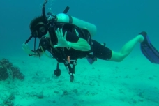 Maggie-the-Mom, scuba dive , Thailand