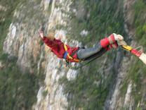 Maggie-the-Mom bungee jump South Africa