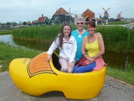 Savannah Grace, Grandma, Maggie-the-Mom, Holland