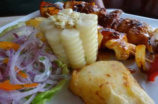 Lima, Peru Lunchtime