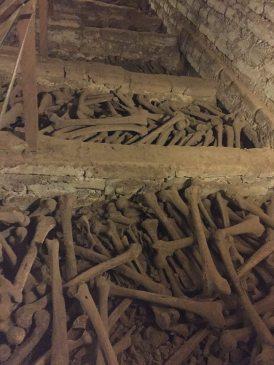 Lima Peru. Catacombs
