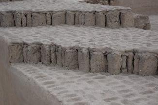 1,500 year old ruins of Huaca Pucllana pyramids, Peru