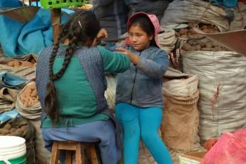 Urubamba Peru Market