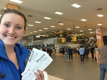 Savannah Grace flight to Peru