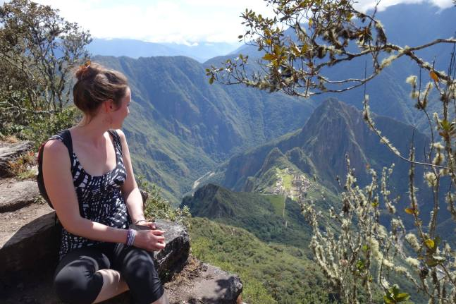 overlooking Machu Picchu Peru -Savannah Grace