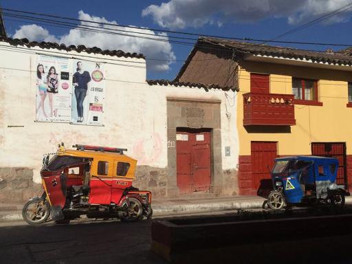 tuktuk, Urubamba Peru