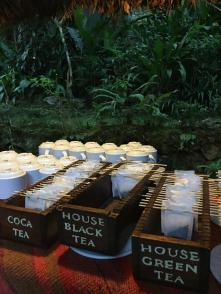 tea time at Inkaterra Machu Picchu Puerblo Hotel, Peru