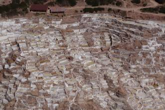 ancient salt terraces of Maras, Peru