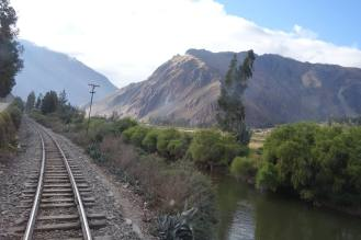 Ollantaytambo to Aguas Peru train ride