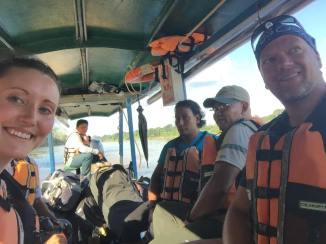 cruising the Amazon river, Peru