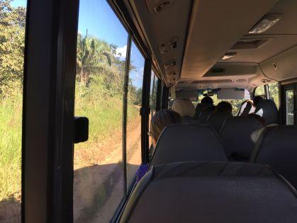 Bus ride Peru