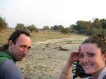 Ammon and Savannah in Zambia