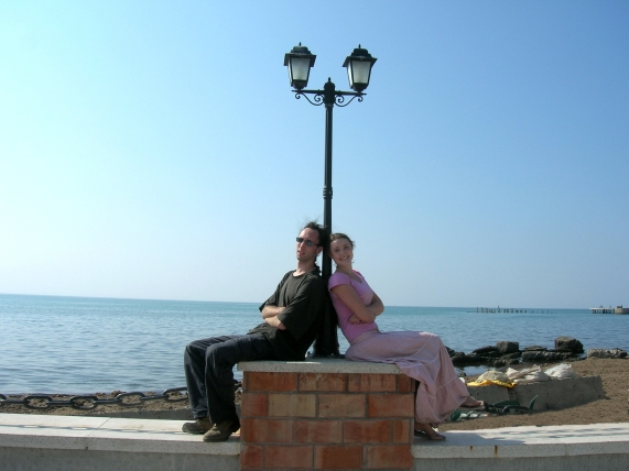 Ammon and Savannah in Albania