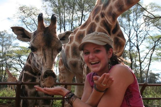 RTW Breanna Watkins in Tanzania
