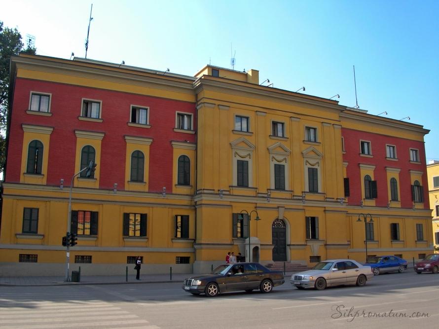 Skanderbeg Square. - Tirana, Albania