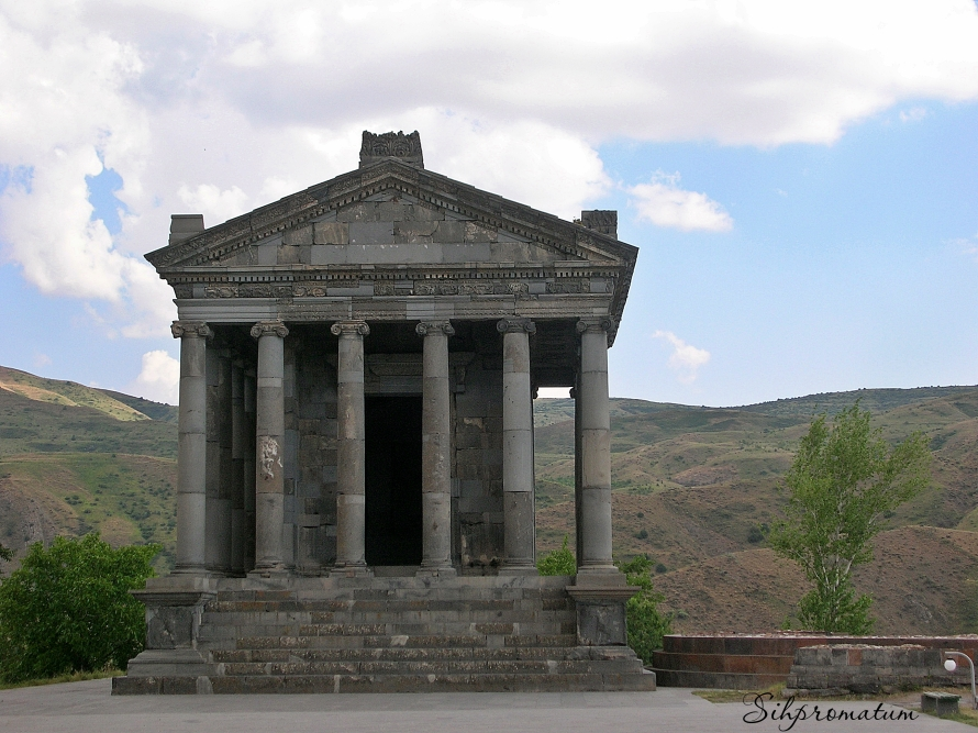 Pagan temple Armenia