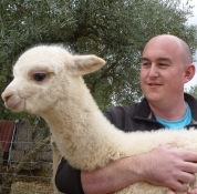 1Alan with cria