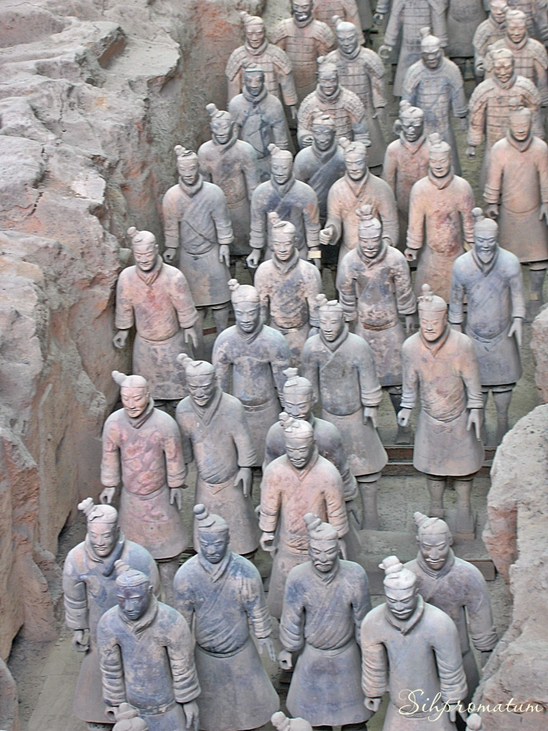 Terra Cotta Army. CHina