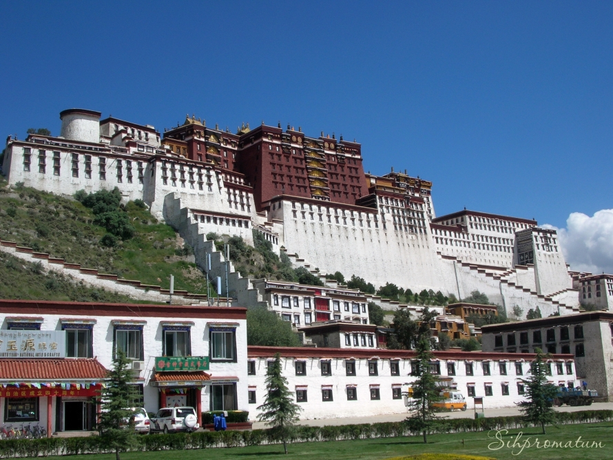 Potala Palace. Lhasa ,China