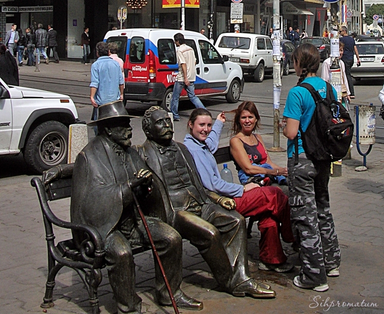 Slaveikov statues