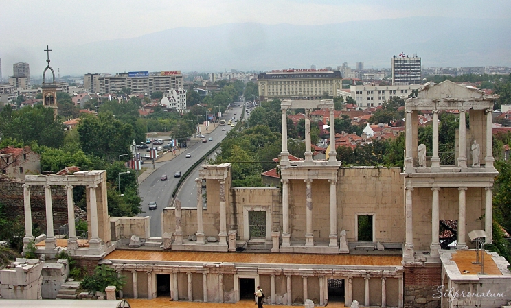 Ancient theatre Plovdiv