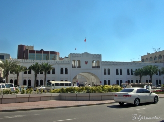 Bab Al Bahrain is the old business centre in Manama, Bahrain