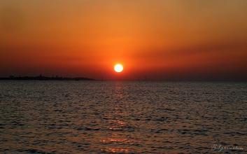 Beautiful sunsets, Bahrain