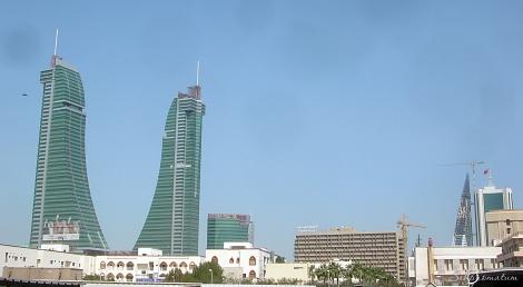 Bahrain Financial Harbour under construction, Bahrain
