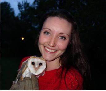 Echo the barn owl. 6 months with Savannah
