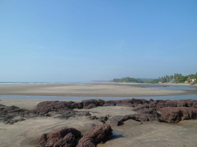 Ashvem beach, Goa