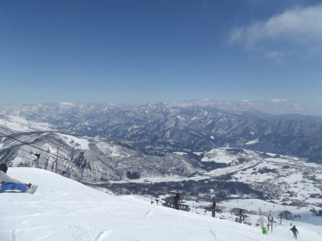 slopes in Japan