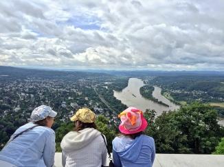 Rhine river, Bonn Germany