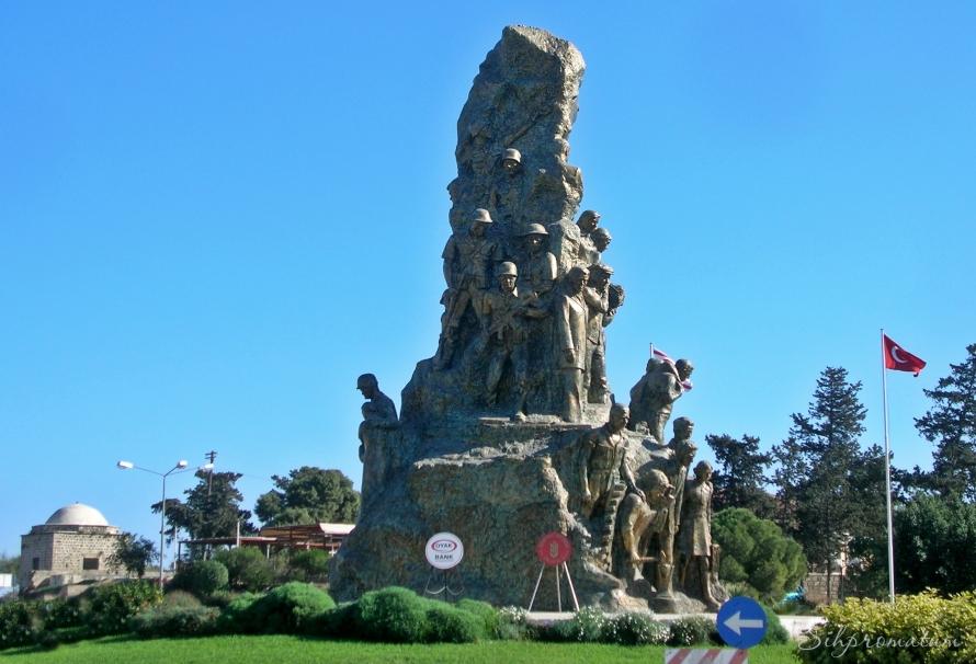 Ataturk in Gazimagusta, North Cyprus