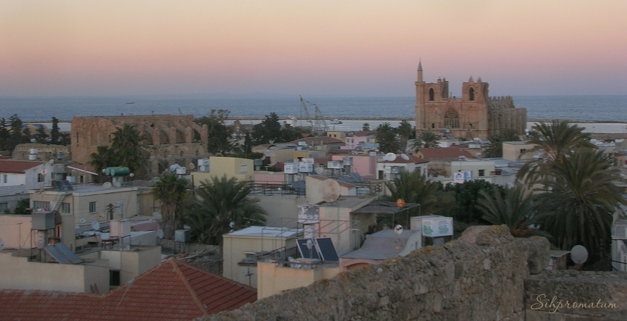 famagusta on the east coast of cyprus