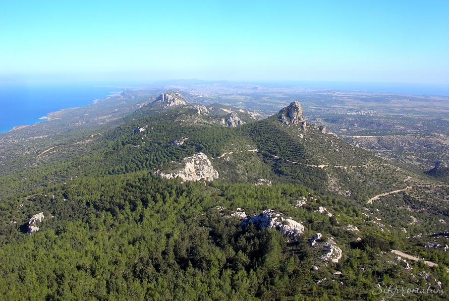 Kyrenia Mountain range.