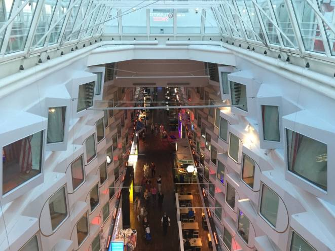 Tallink Silja Line inside ship