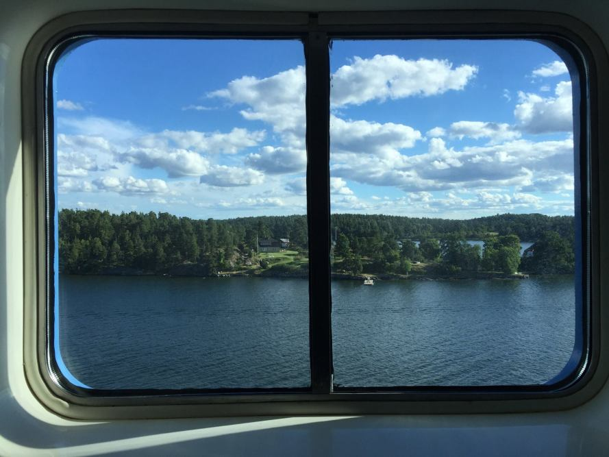 cruise boat window
