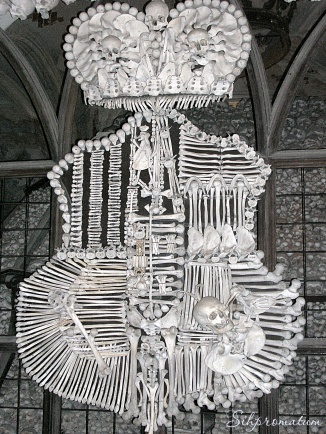 The Sedlec Ossuary, Czech Republic