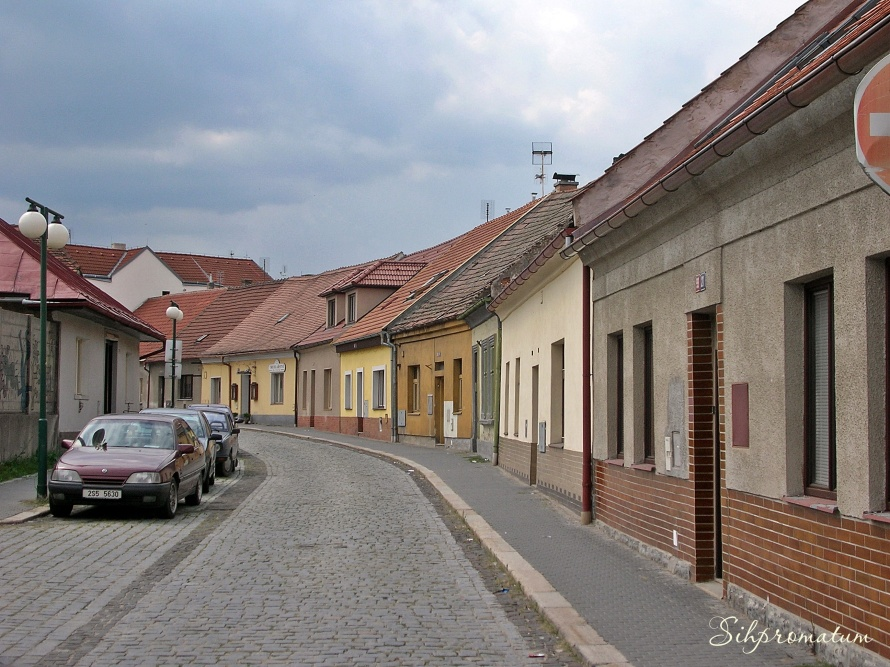 A stroll on the streets of Podebrady, Czech Republic