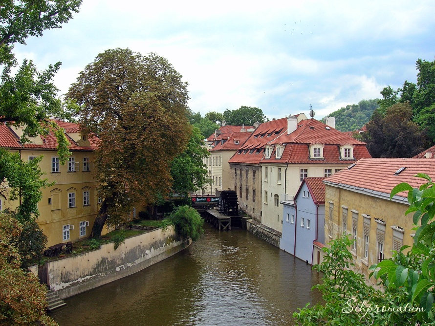 Canals in Prague, Czech Republic